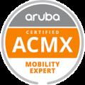 Aruba certified ACMX
